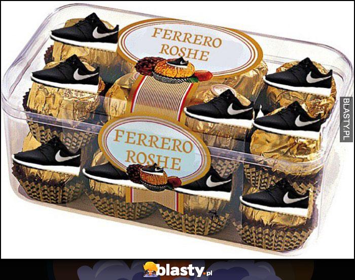 Ferrero Roshe buty Nike Rosche Run przeróbka