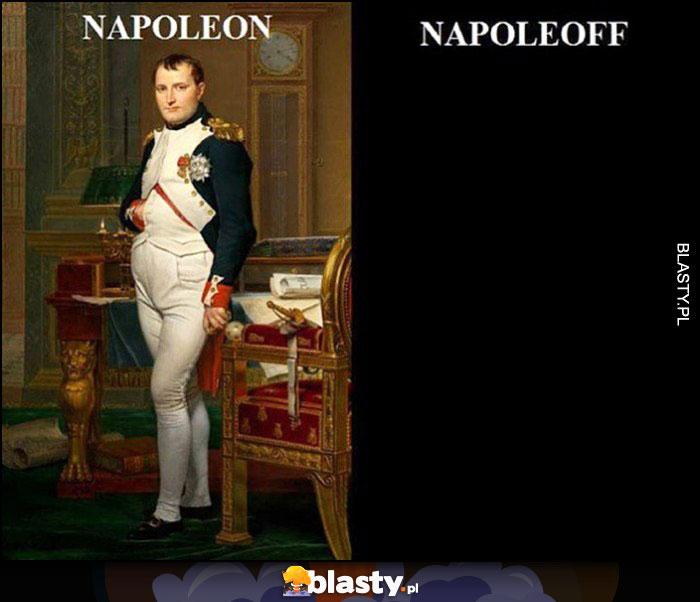 Napoleon vs Napoleoff włączone wyłączone światło