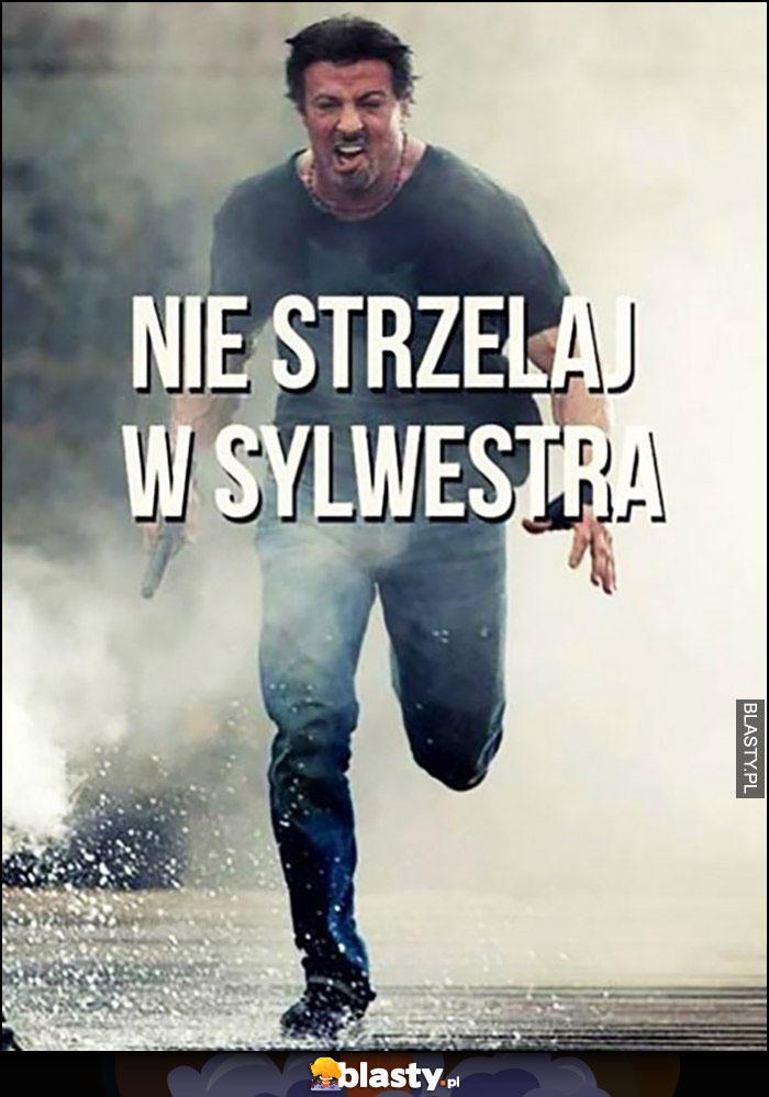 Nie strzelaj w Sylwestra - Sylvester Stallone