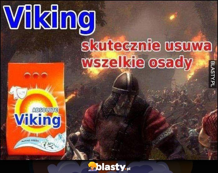 Viking skutecznie usuwa wszelkie osady proszek do prania