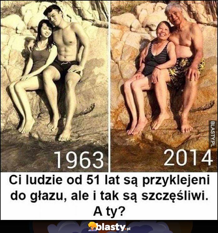 Ci ludzie od 51 lat są przyklejeni do głazu, ale i tak są szczęśliwi, a Ty?