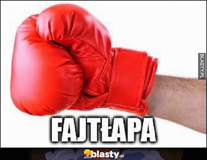Fajtłapa rękawica bokserska fight łapa