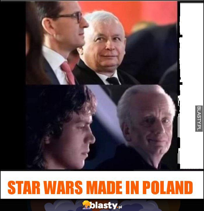 Star wars made in poland