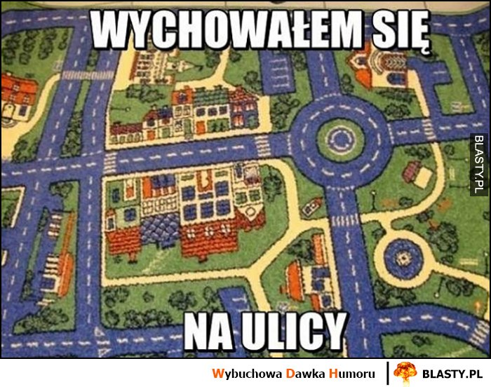 Wychowałem się na ulicy dywan ulica