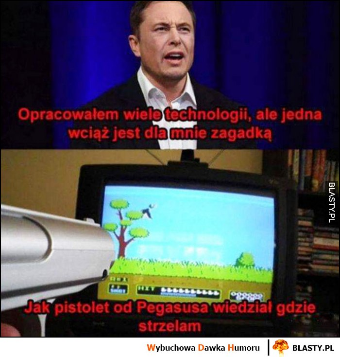 Elon Musk opracowałem wiele technologii ale jedna wciąż jest dla mnie zagadką, jak pistolet od Pegasusa wiedział gdzie strzelam