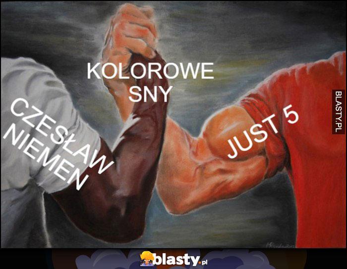 Kolorowe sny Czesław Niemen i Just 5 piątka sztama