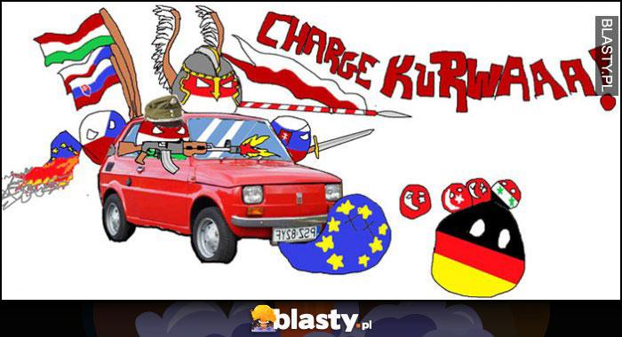 Polandball maluch przeróbka charge kurna