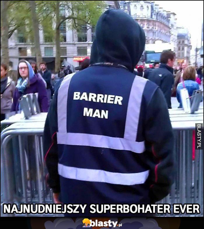 Barrier man najnudniejszy superbohater ever