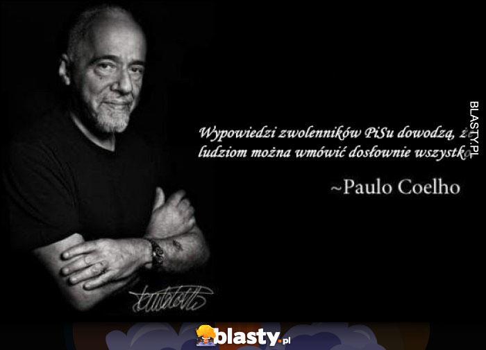 Coelho o pisowskiej propagandzie