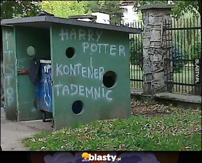 Harry Potter i kontener tajemnic śmietnik