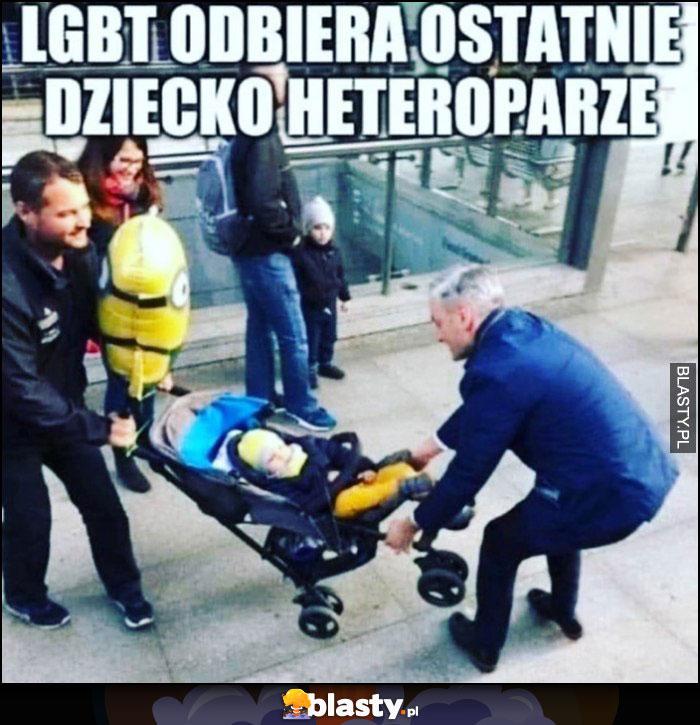 LGBT odbiera ostatnie dziecko heteroparze Robert Biedroń