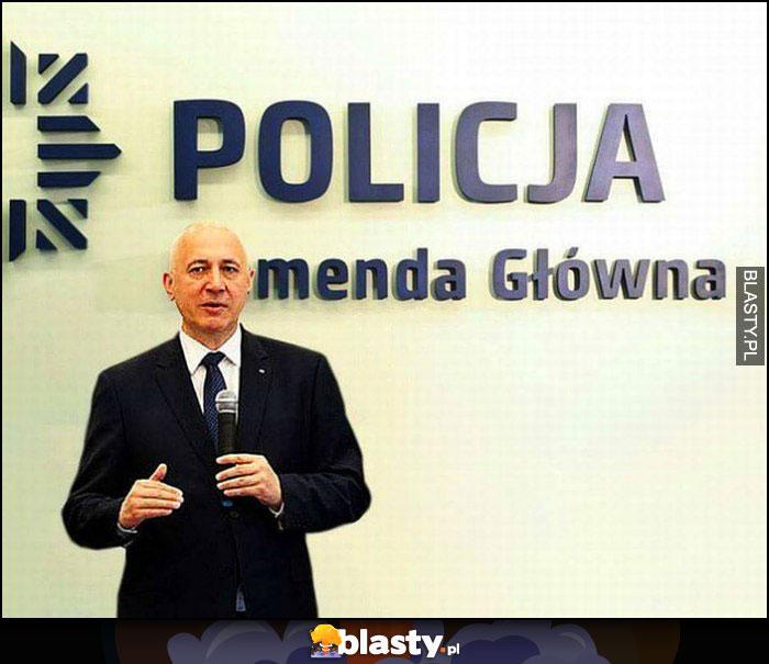 Menda główna policja Brudziński komenda główna