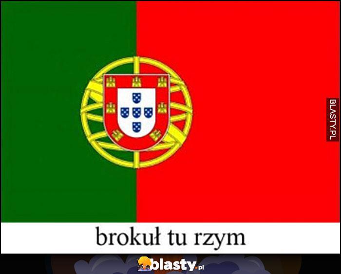 Portugalia brokuł tu Rzym dosłownie