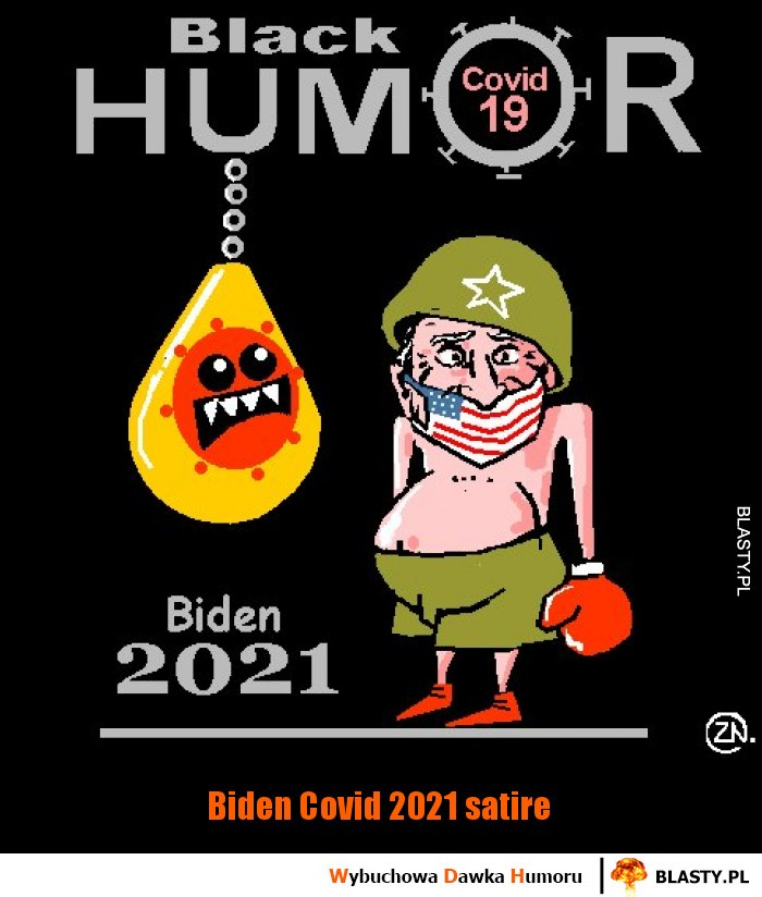 Biden Covid 2021 satire