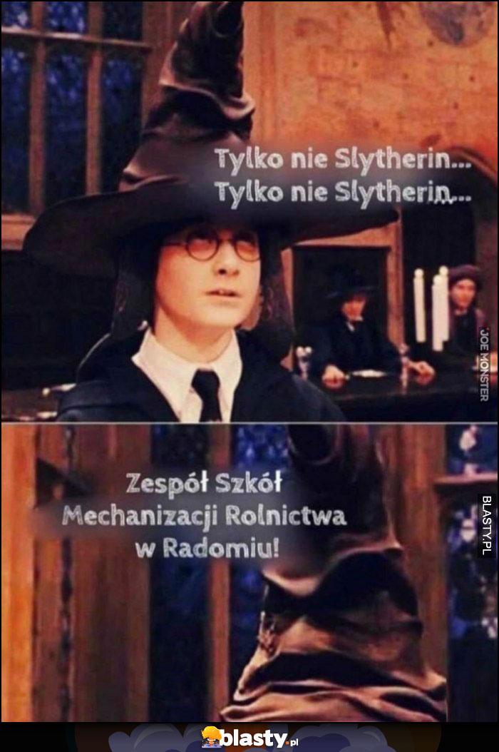 Harry Potter tylko nie Slytherin, Zespół Szkół Mechanizacji Rolnictwa w Radomiu
