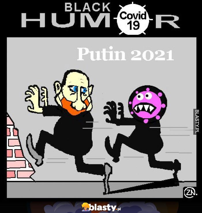 Putin Władimir 2021 humor