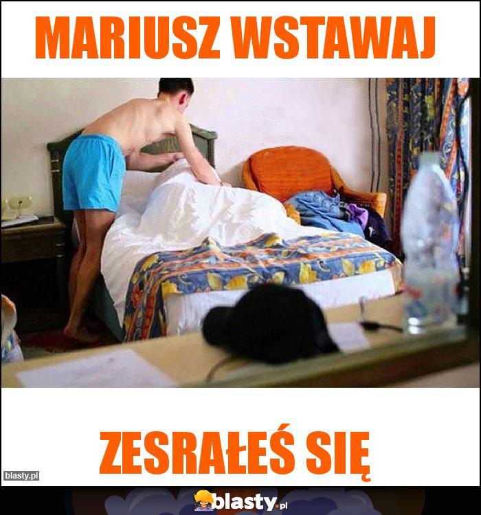 MARIUSZ WSTAWAJ