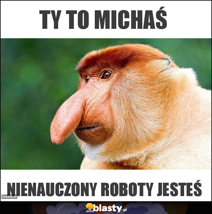 TY TO MICHAŚ