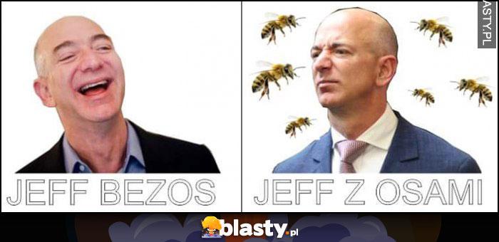 Jeff Bezos vs Jeff z osami porównanie dosłownie