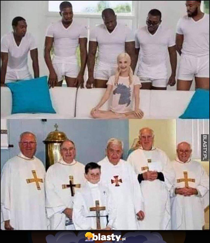 Film dla dorosłych murzyni dziewczyna vs księża ministrant porównanie