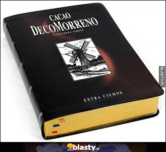 Książka Cacao DecoMorreno przeróbka kakao