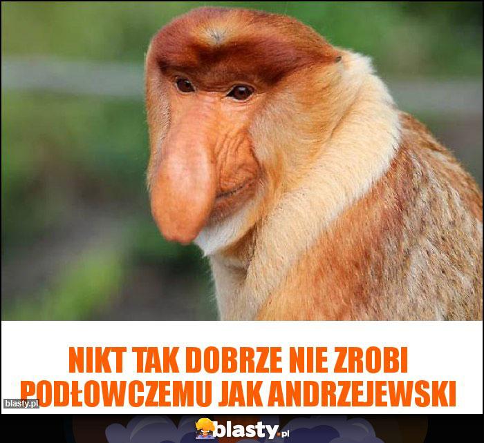 Nikt tak dobrze nie zrobi podłowczemu jak Andrzejewski