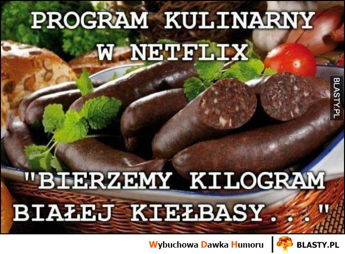 Program kulinarny w Netflix