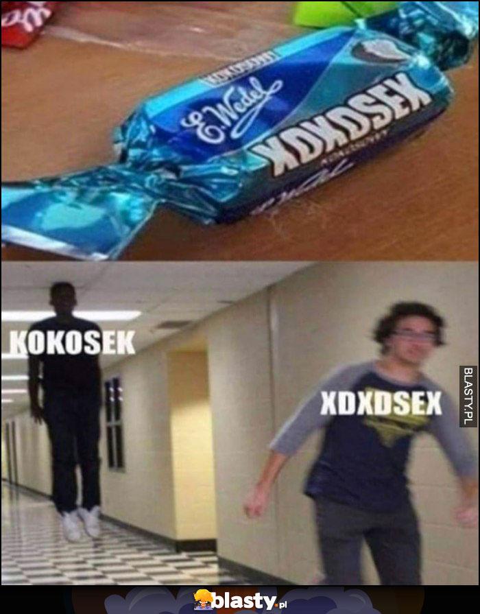 Kokosek vs xdxdsex cukierek Wedel