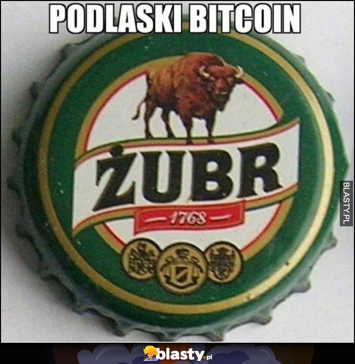 Podlaski bitcoin kapsel piwo Żubr