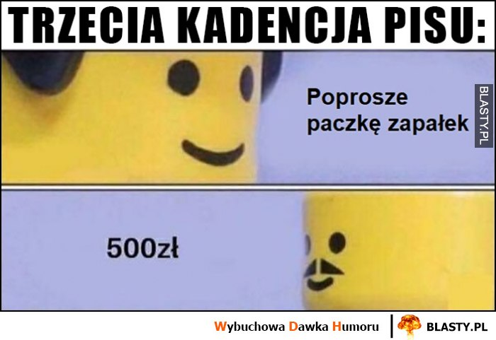 Trzecia kadencja PiS: poproszę paczkę zapałek, 500 zł Lego