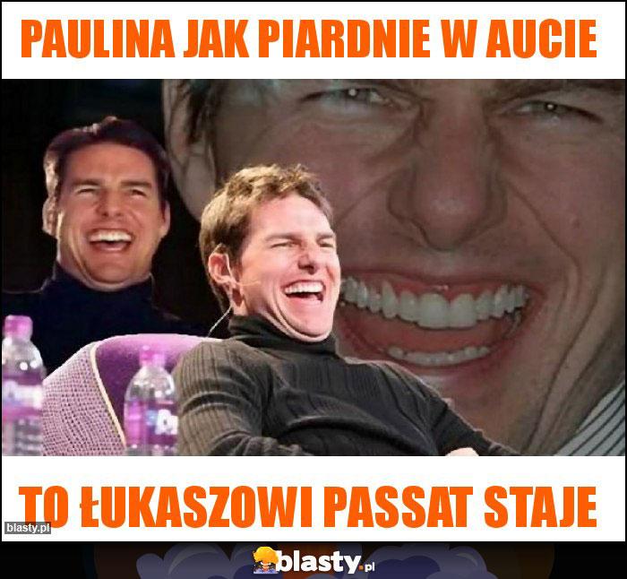 Paulina jak piardnie w aucie