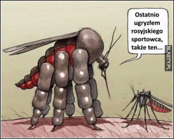 komar na dopingu